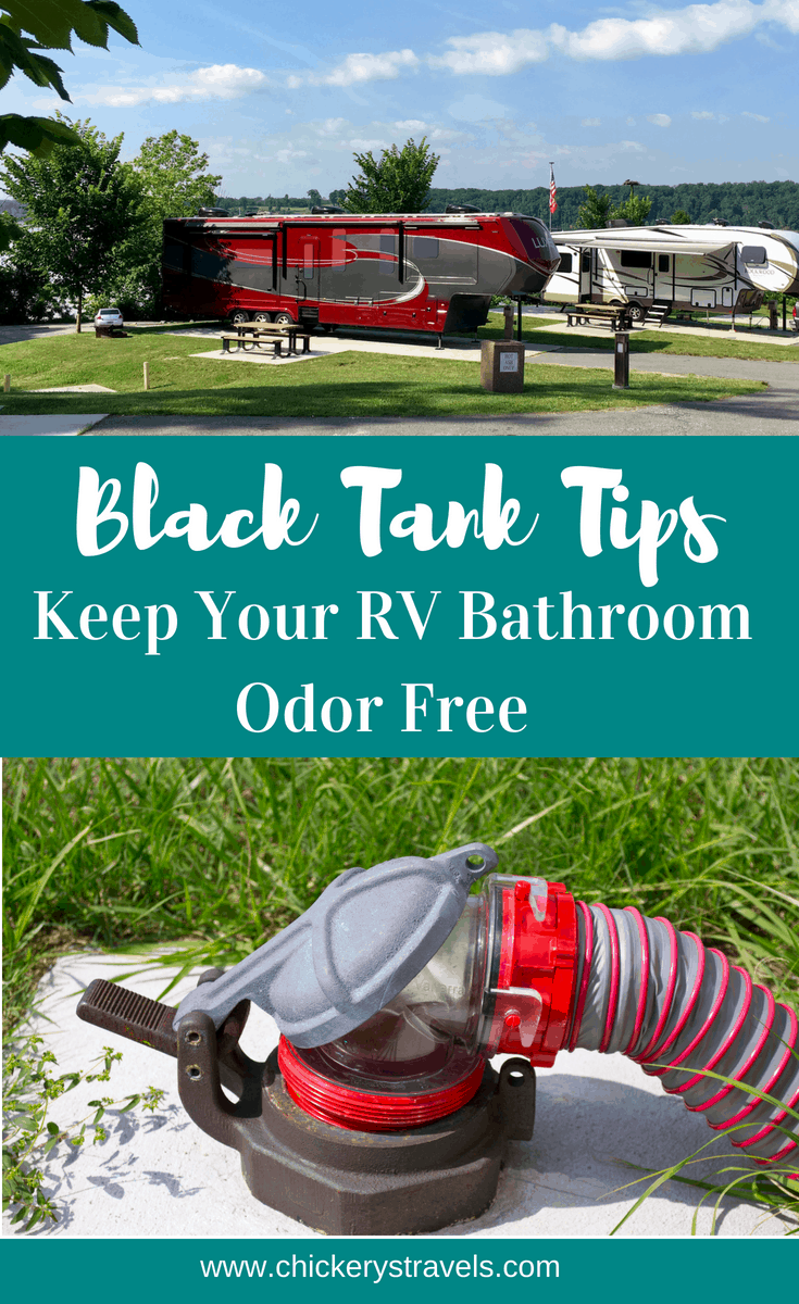Want an odor free RV? Follow these tips to keeping your camper bathroom smelling fresh! We cover the basics of RV and camper holding tank maintenance. Simple steps, no purchase of deodorizing packets required.