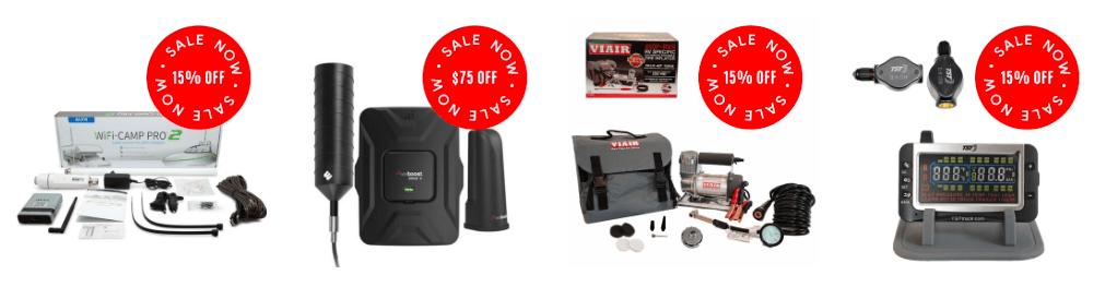 TechnoRV holiday sale