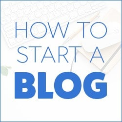 Learn how to start a profitable blog in 6 easy steps! I will walk you through the entire process with plenty of images and videos.