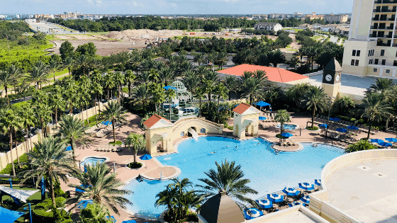 We stayed at the Parc Soleil Hilton Resort in Orlando while our RV was in the shop.