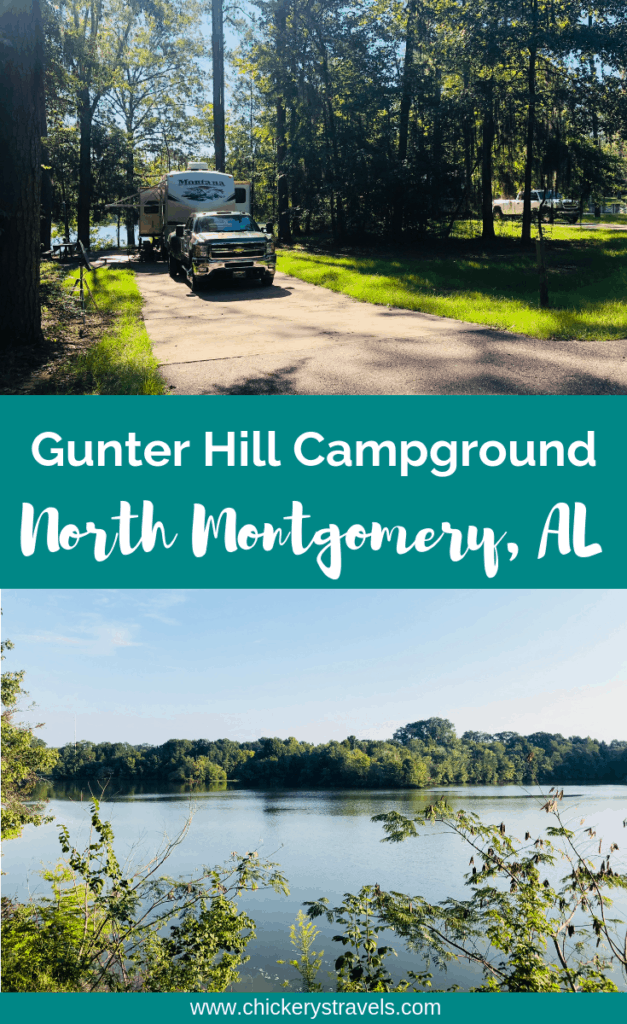 Gunter Hill Campground Montgomery Alabama