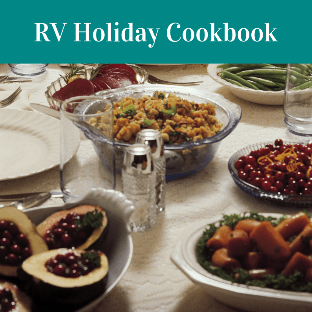 You can still have your cake and eat it too! This holiday cookbook consists of 16 recipes with options for the grill,  instant pot, slow cooker, and propane oven. Click here for your free small kitchen cookbook and cooking tips.