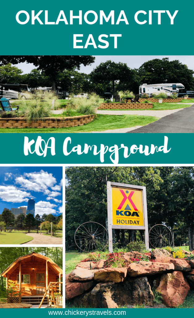Oklahoma City East KOA is located in Choctaw, Oklahoma and offers great camping sites! This KOA campground offers RV sites, tent camping, and cabins in a quiet, shaded country setting just 15 minutes from the heart of downtown Oklahoma City.
