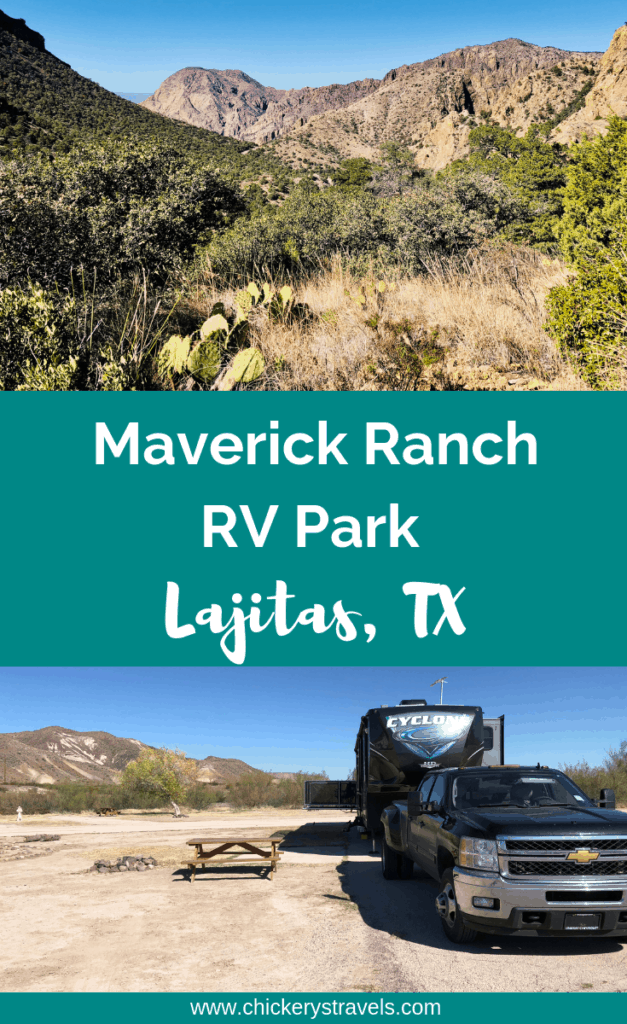 Located between Big Bend National Park and Big Bend Ranch State Park, Maverick Ranch RV Park offers 100 full hook-up sites, including 60 pull-through sites, as well as a swimming pool, community center, and laundry room.