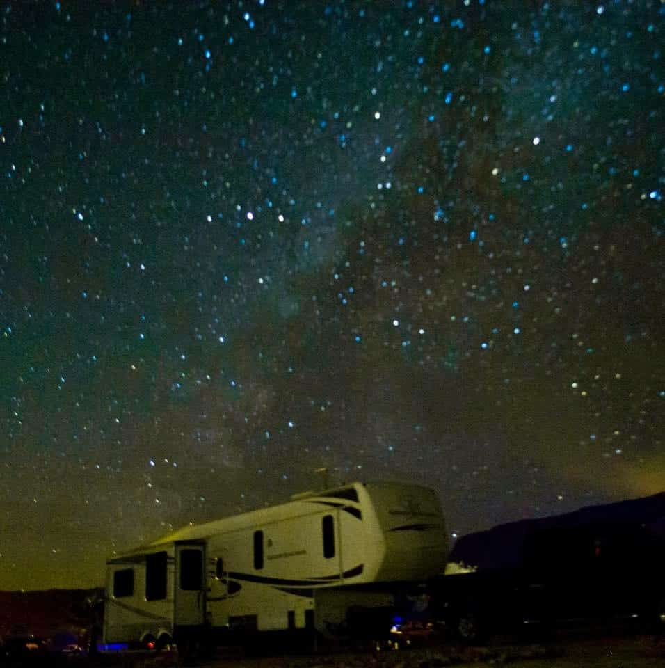 Situated in an International Dark Sky community, the star gazing at Maverick Ranch RV Park is not to be missed! We could see the Milky Way right from our picnic table.