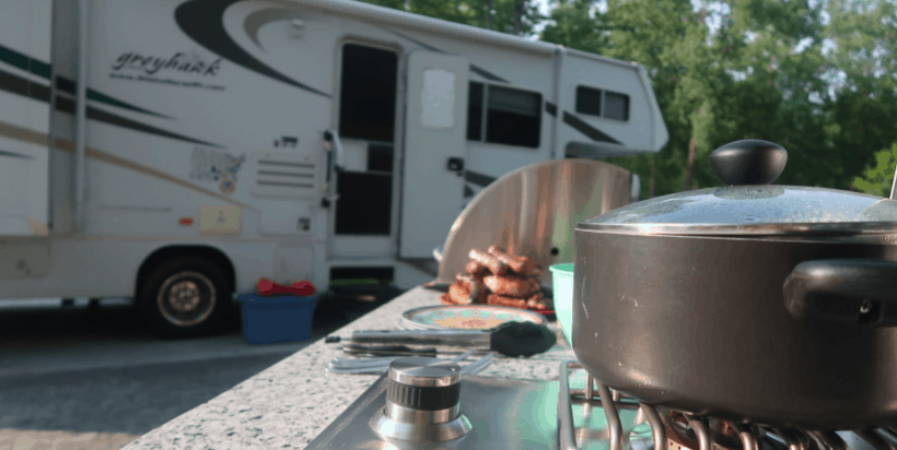 The Port Huron KOA is a large park. It offers almost 300 RV and tent sites! Some sites are basic, while others are luxurious with outdoor kitchens and more!