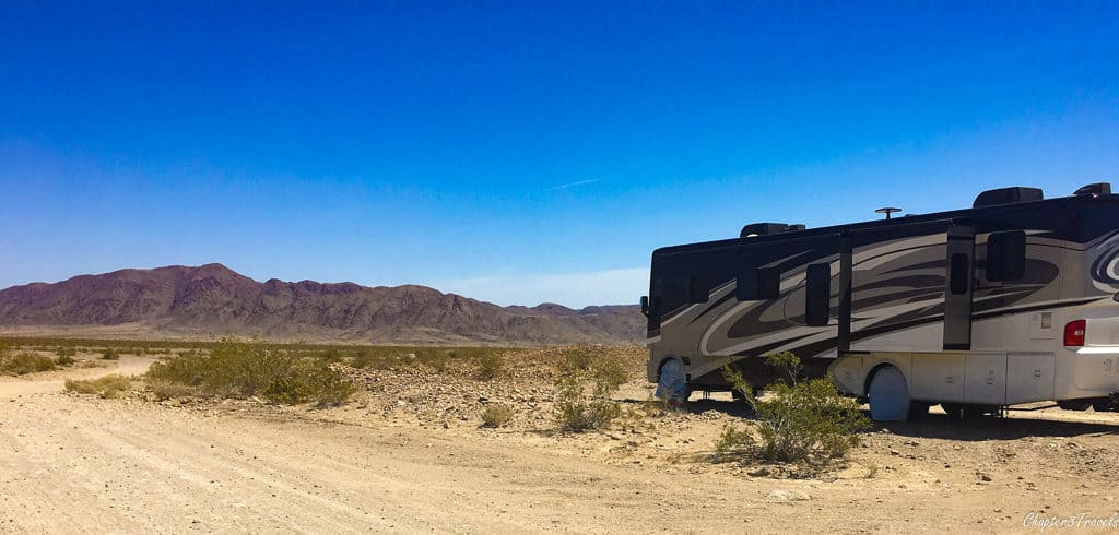 RV travel provides you with so many options. You can camp on the beach or boondock in the desert. Choose what works best for you.