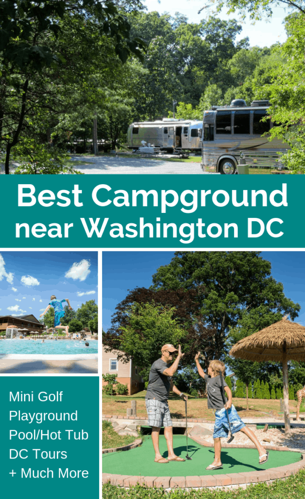 Cherry Hill Park is located along side of I-95 in College Park, Maryland, only 17 miles from the National Mall in Washington, DC. There is a wide array of amenities offered including DC sightseeing tours that leave right from the campground.