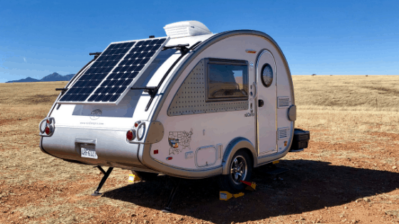 No matter the size of your RV, a couple of solar panels can go a long way towards making your dry camping trips more enjoyable.