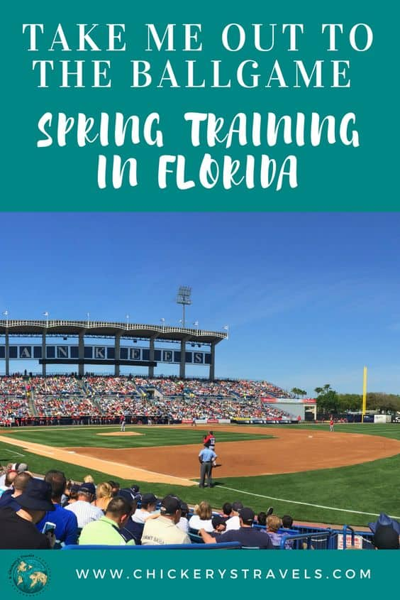 Don't miss the chance to watch Spring Training baseball in Florida. This relaxed springtime atmosphere in smaller stadiums really enhances the experience for the fans! You can't go wrong when you combine that with the warm Florida weather and beaches.