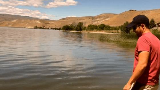 Crescent Bar RV Resort along the Columbia River