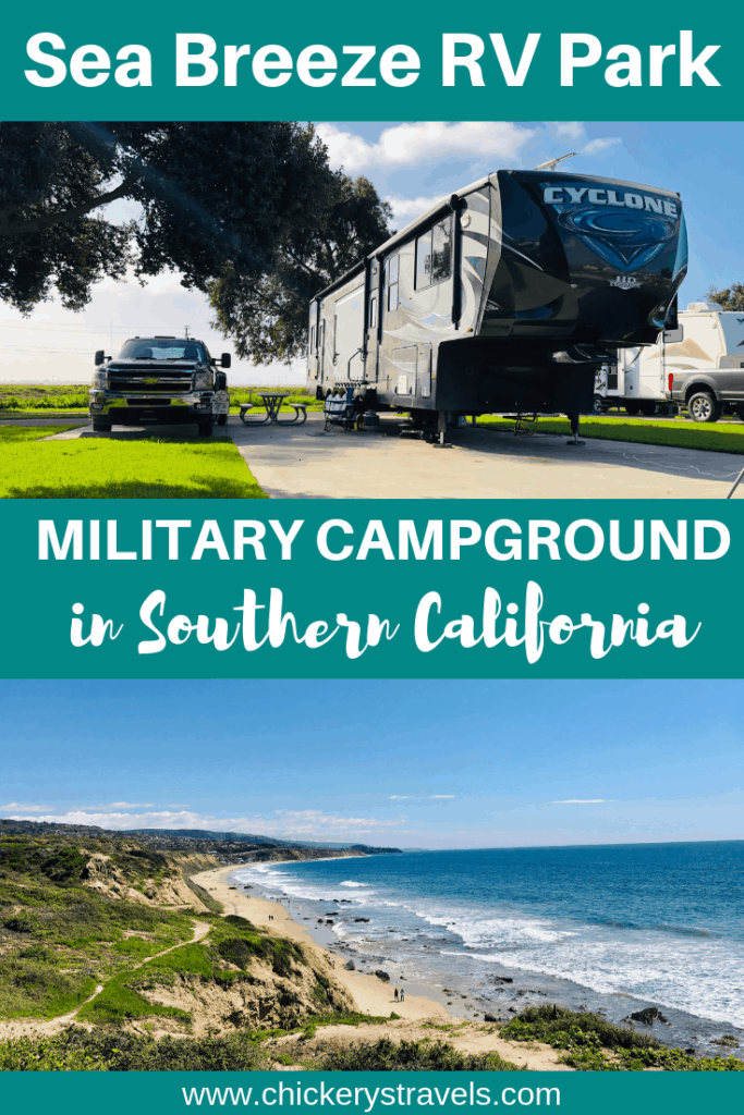Sea Breeze RV Park is a military campground on Naval Weapons Station Seal Beach in Southern California. It is only 8 miles south from Long Beach and close to many Los Angeles attractions.