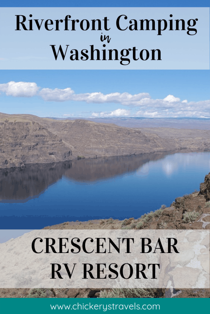 Crescent Bar RV Resort is set right along the Columbia River. This is not the wet Pacific Northwest you've heard of. There is actually little rainfall in this region of central Washington surrounded by towering basalt cliffs, sandy river beaches, and views of the Cascade mountains.