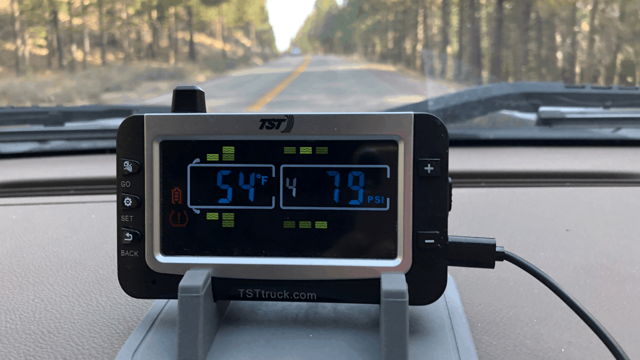 The TPMS alerts the driver if a tire gets too hot or has pressure outside the desired range (too high or too low). This gives you time to pull over safely before a blowout occurs.