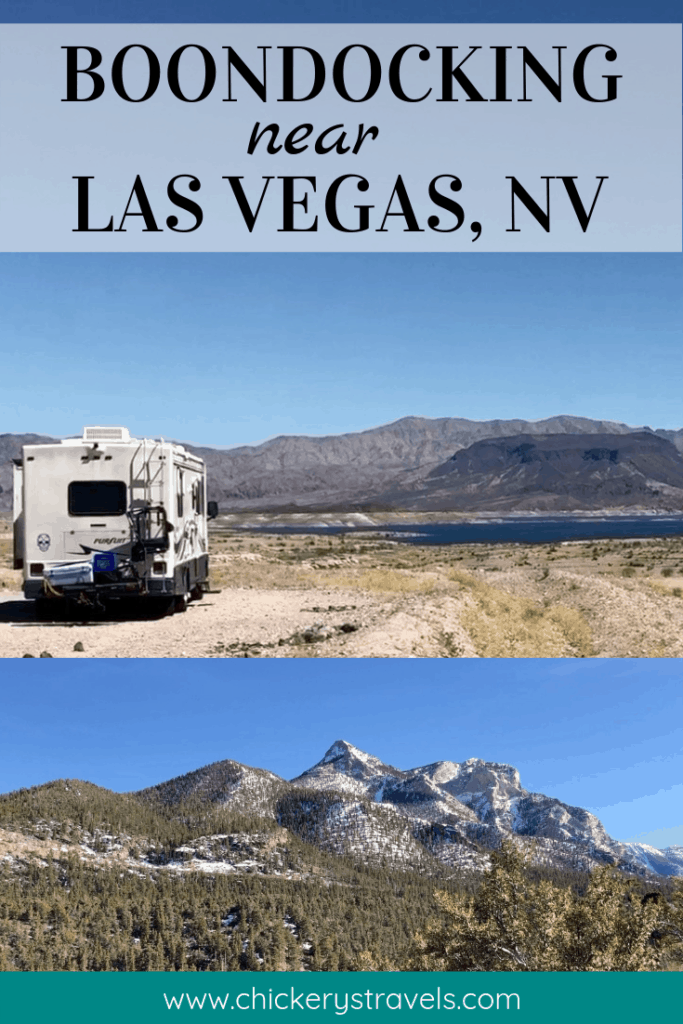 There are several options for boondocking or dry camping near Las Vegas, Nevada. You can save money on your next RV vacation with Free Camping in the desert, mountains, or by the lake. No matter what kind of RV, motorhome, or trailer you have, there is something for everyone.