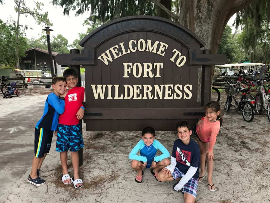 campground is filled with activities for all ages to enjoy. There are jogging trails, playgrounds, bike rentals, boat and canoe/kayak rentals, two pools with a waterslide and hot tubs, horseback riding, golf cart rentals, volleyball and basketball courts, and even an archery experience.