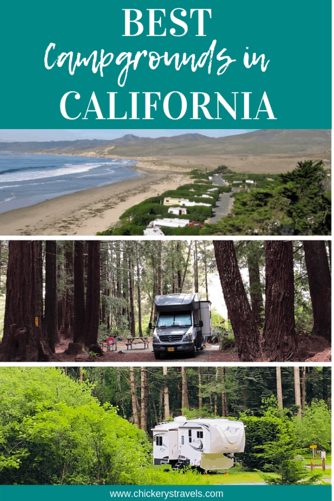 Looking for the best campgrounds in California? Check out this list of some of the best national, state, and county parks as well as privately owned RV resorts, KOA franchises, Thousand Trails membership camping resorts, and a few military campgrounds. There is something for everyone to put on their bucket list whether you travel by RV, rent cabins, or tent camp.
