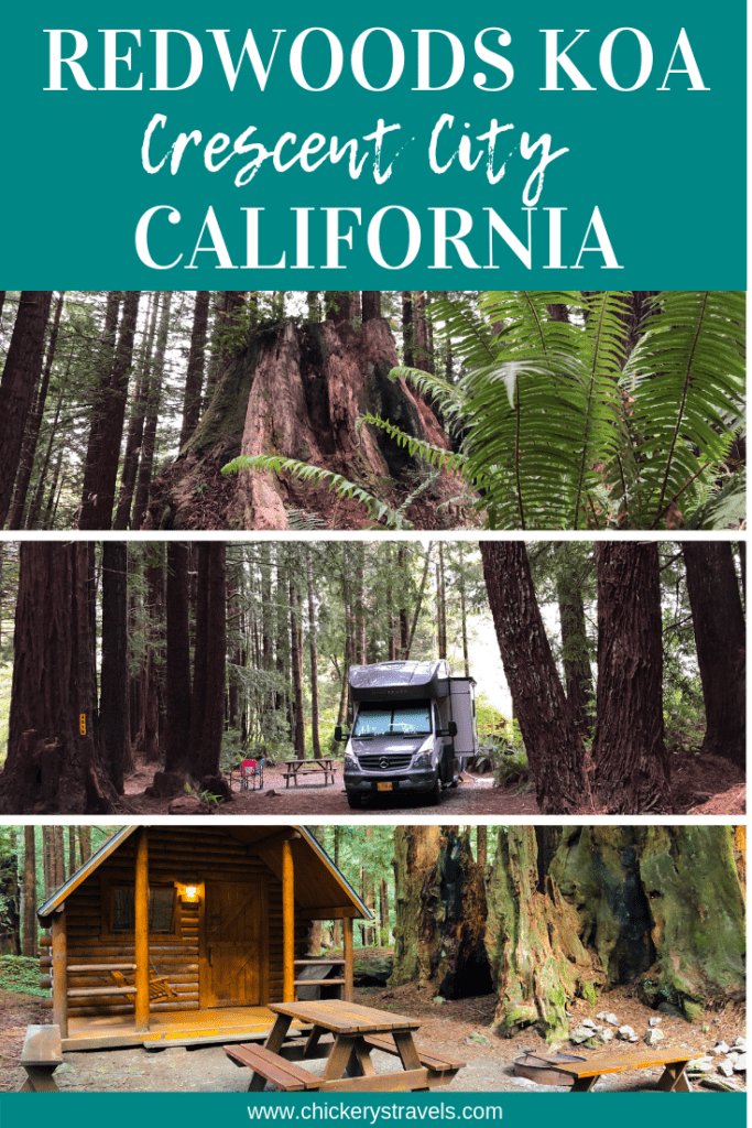 Learn why you should visit the Crescent City / Redwoods KOA nestled among 10 acres of redwood forest. It had everything you'd expect from a KOA franchise, but had the natural beauty of a state or national park. It really was the best of both worlds. RV full hook-up sites, tent sites, and cabins are all available to rent for you next family vacation.