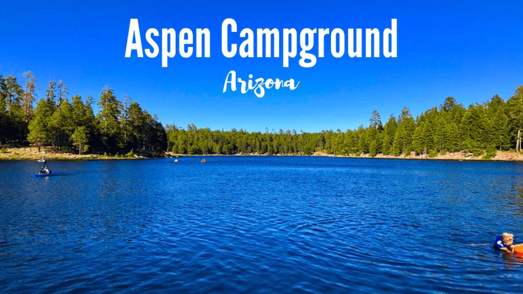 The Aspen campground is one of the most popular national forest campgrounds in Arizona and for good reason. It is located less than a half mile south of Woods Canyon Lake on the Mogollon Rim. This large campground offers 148 campsites with lots of space and quick access to lots of fun activities.