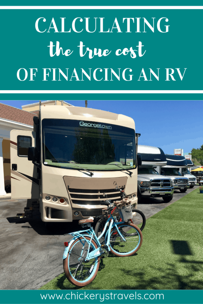 There are a lot factors involved in financing a new RV. More than just the sticker price or monthly payment. In this article, we cover the crucial factors of depreciation and interest.