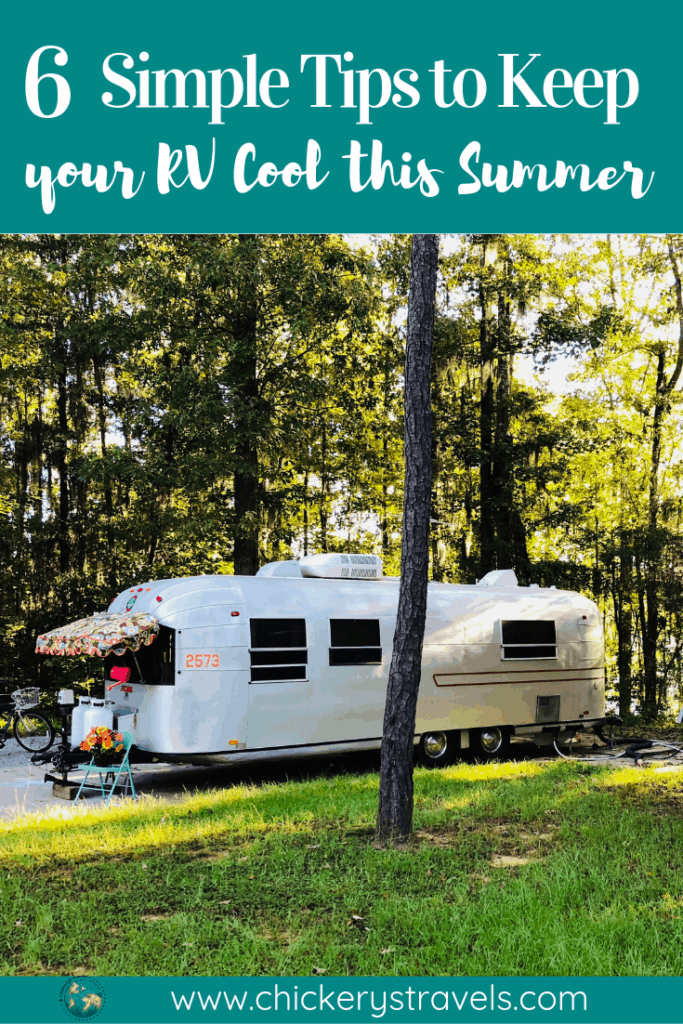Follow these 6 simple tips to keep your RV cool this summer. It's hot, but you don't have to be uncomfortable on your next camping trip. Whether you have a motorhome, Class C, Fifth Wheel, or travel trailer these tips and tricks will work for you.