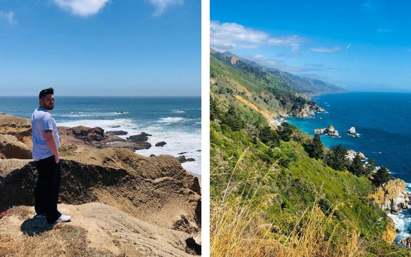 Vandenberg Air Force Base is located on the central coast and has over 30 miles of coastline. We enjoyed its private beaches without worrying about crowds.