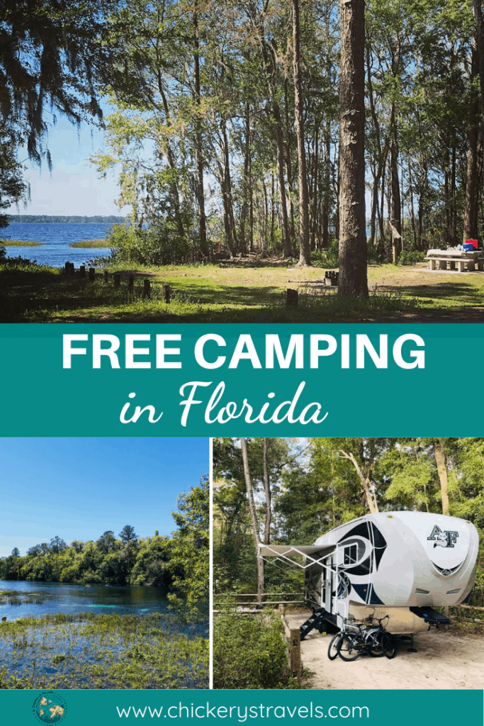 Learn where you can camp for free in Florida. Save money on your next RV camping trip by staying in one of several free campsites across the state. There is plenty of room for big rigs and motorhomes, and the whole family will enjoy the space for their travel trailer and small campers.