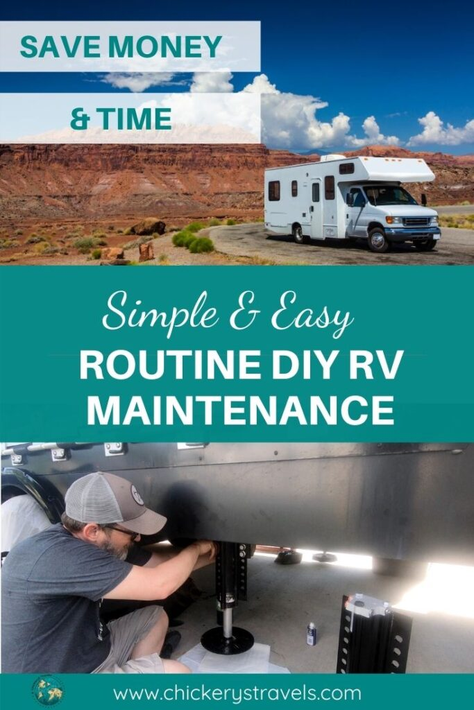 Save time and money with these simple DIY RV preventive maintenance tasks. These main systems have easy tasks that anyone can do to keep them running smoothly whether you have a motorhome, fifth wheel, or travel trailer.