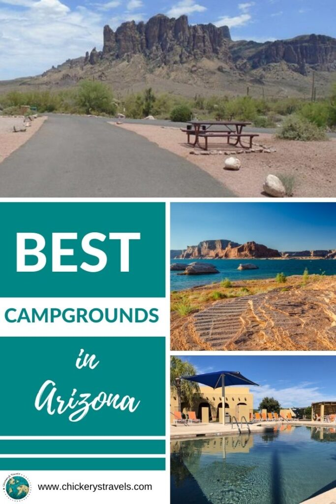 No matter what time of year you visit, there is beautiful weather to be found in Arizona.With a state-wide elevation difference of 12,563 feet, Arizona has remarkably high ecological diversity.  This list represents some of the best national park, state park, and privately owned campgrounds and RV resorts in Arizona.