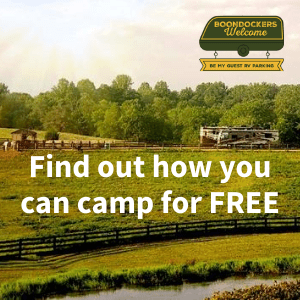 Learn how to camp for free at over 2500 locations worldwide.