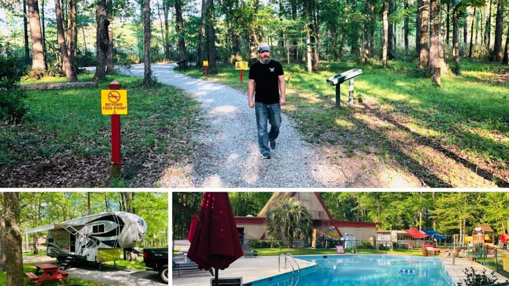 There are many wonderful campgrounds in both North and South Carolina.