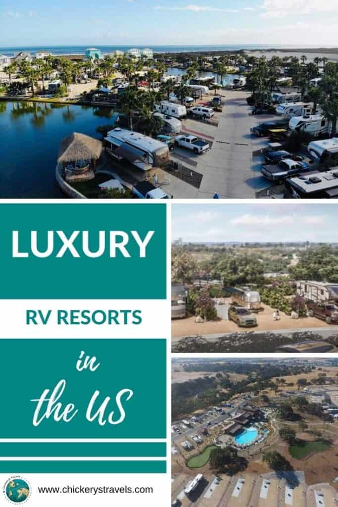 Looking for a luxury RV resort with a private tiki hut or your own dock in Key West? This article shares all you need to know about the best luxury RV resorts in the US.