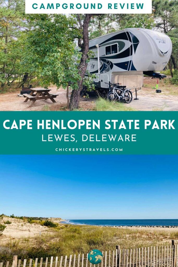 Cape Henlopen State Park in Deleware is perfect for your family's next camping adventure! Surrounded by water and natural beauty, there are so many activities from beaches and fishing to a nature center and historic WWII museum.