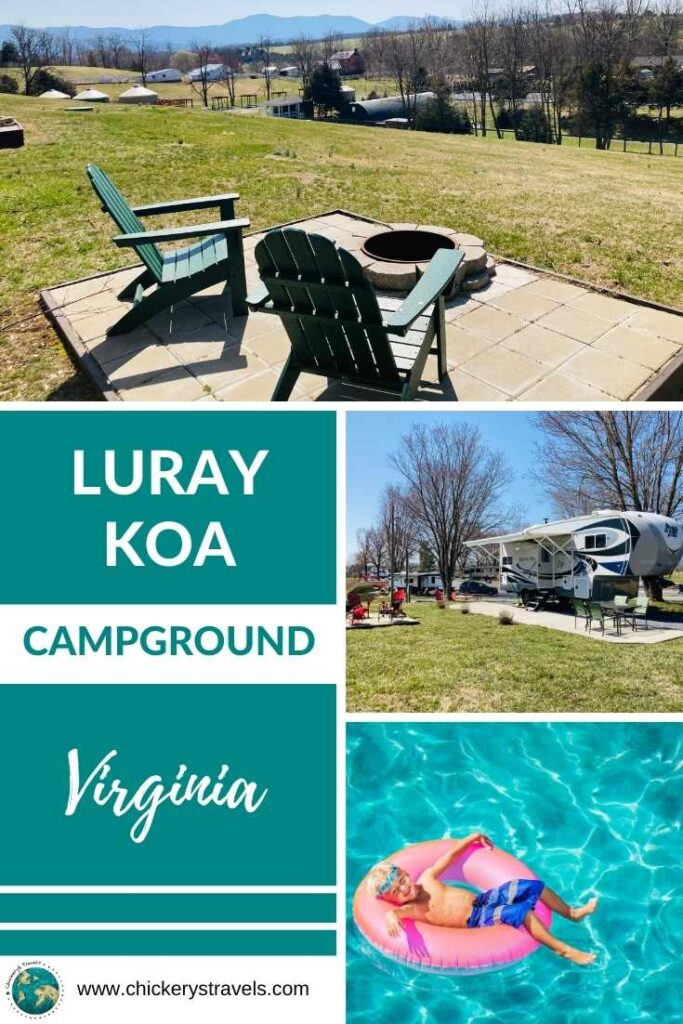 We visited the Luray KOA this spring and loved it! Nestled between Shenandoah National Park and George Washington National Forest, it has fabulous views all around the campground, not to mention all the recreational opportunities.  It's a family friendly campground for all ages.