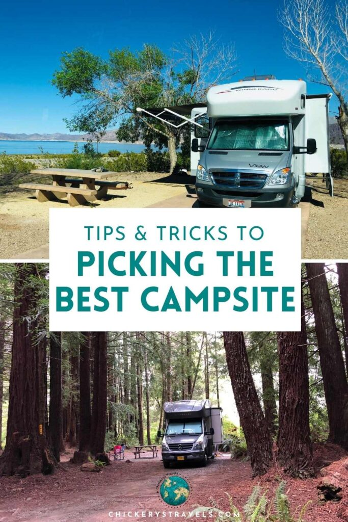 Learn all you need to know to pick the best campsite in the campground. We'll share tips and tricks for making sure you have the best views and access to all the campground has to offer for your next RV vacation.