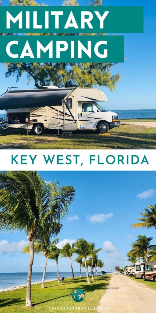 There are three campgrounds for retired and active military in Key West, Florida. Offering a range of full hook up sites and dry camping, there is something for every type of RV from big rig to small camper.