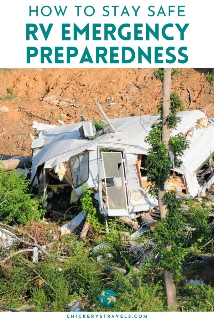 Follow these tips to stay safe in your RV. Emergency Preparedness can go a long way to ensuring you are ready in case the worst happens.