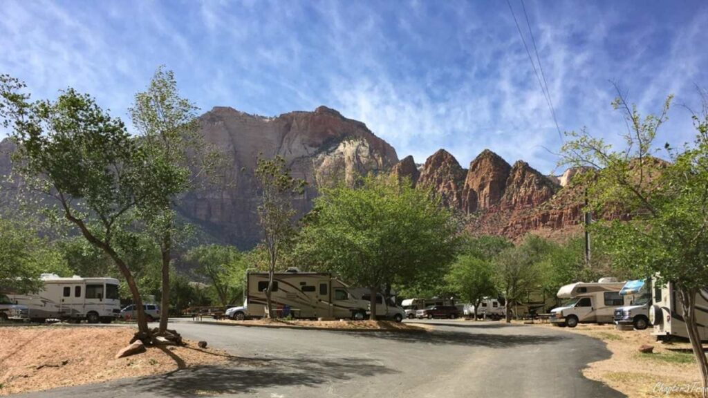 Given Zion National Park's incredible popularity, scoring a campsite inside the park can be extremely tough, and if you park your RV far away, you may get stuck in a long line of traffic waiting to get in at the front gate. One solution is to book a site at Zion Canyon Campground. While, admittedly, the campground is busy and its sites are close together, it offers unparalleled access to Zion. In fact, you can leave your car parked at the campground and simply walk into the park (and then hop on one of the park's shuttles to get around inside the park.) It is an ideal campground to use as a base for exploring this gorgeous national park.