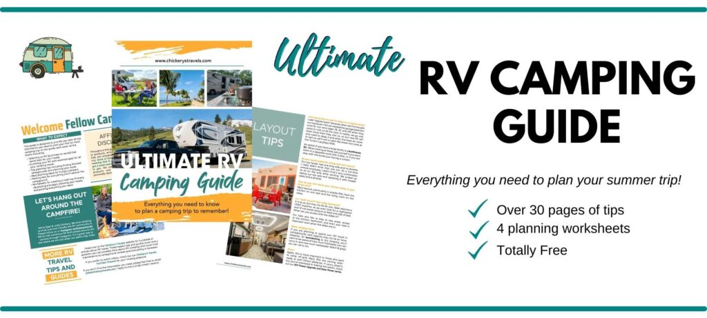 Ultimate RV camping guide filled with tips for planning your next trip.